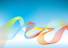 Fondo de la presentación del arco iris ilustración del vector