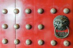 Fondo de la puerta de los leones Imagen de archivo libre de regalías