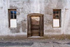 Fondo de la puerta trasera del abandono Fotos de archivo