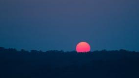 Fondo de la puesta del sol/de la salida del sol Imagen de archivo libre de regalías