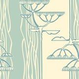 Fondo de la ramificación de la flor de hinojo Foto de archivo libre de regalías