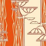 Fondo de la ramificación de la flor de hinojo Imágenes de archivo libres de regalías