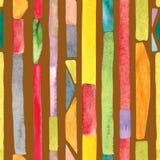 Fondo de la raya del Watercolour stock de ilustración