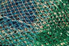 Fondo de la red de pesca Fotografía de archivo libre de regalías