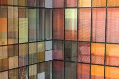 Fondo de la reflexión del color de la ventana Imagen de archivo libre de regalías
