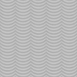 Fondo de la repetición de Gray Wavy Stripes Tile Pattern Fotos de archivo