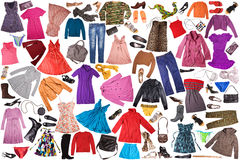 Fondo de la ropa Imagen de archivo