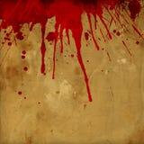 Fondo de la salpicadura de la sangre del Grunge Fotografía de archivo libre de regalías
