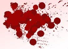 Fondo de la sangre stock de ilustración