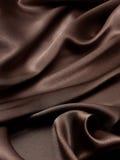 Fondo de la seda de Brown Imagenes de archivo