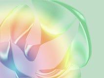 Fondo de la seda del arco iris stock de ilustración