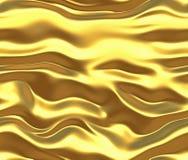 fondo de la seda o del satén del oro ilustración del vector