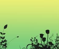 Fondo de la silueta de la fantasía Imagen de archivo libre de regalías