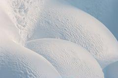 Fondo de la superficie de la nieve Fotografía de archivo