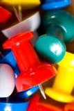 Fondo de la tachuela de pulgar Foto de archivo libre de regalías