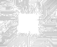 Fondo de la tarjeta de circuitos ilustración del vector