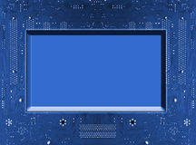 Fondo de la tarjeta de circuitos Imágenes de archivo libres de regalías