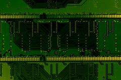 Fondo de la tarjeta de circuitos fotos de archivo