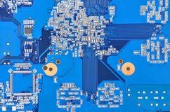 Fondo de la tarjeta de circuitos Imagenes de archivo
