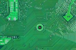 Fondo de la tarjeta de circuitos Fotos de archivo libres de regalías
