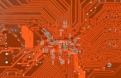 Fondo de la tarjeta de circuitos Foto de archivo libre de regalías