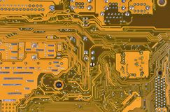Fondo de la tarjeta de circuitos Fotografía de archivo libre de regalías