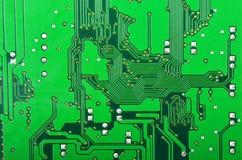 Fondo de la tarjeta de circuitos Foto de archivo