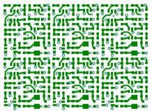 Fondo de la tarjeta de circuitos impresos Imagen de archivo libre de regalías