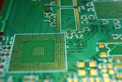 Fondo de la tarjeta de circuitos impresos Fotos de archivo libres de regalías