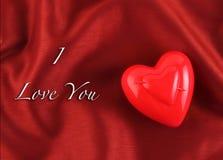 Fondo de la tarjeta de felicitación del corazón del día de tarjeta del día de San Valentín Imagenes de archivo