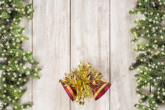 Fondo de la tarjeta de Navidad con un espacio para el texto Imagenes de archivo