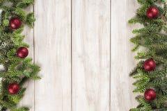 Fondo de la tarjeta de Navidad con un espacio para el texto Fotos de archivo