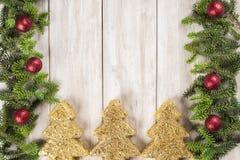 Fondo de la tarjeta de Navidad con un espacio para el texto Imagen de archivo