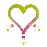 Fondo de la tarjeta del día de San Valentín (vector) Imágenes de archivo libres de regalías