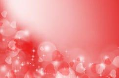 Fondo de la tarjeta del día de San Valentín Foto de archivo libre de regalías