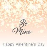 Fondo de la tarjeta de la luz del día de tarjetas del día de San Valentín libre illustration