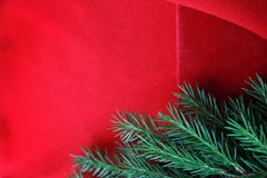 Fondo de la tarjeta de Navidad D?a de fiesta del A?o Nuevo Todav?a de la Navidad vida La visi?n desde la tapa Espacio libre para  foto de archivo