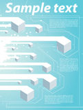 Fondo de la tecnología de Abstrack libre illustration