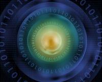 Fondo de la tecnología de Digitaces Fotografía de archivo libre de regalías