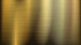 Fondo de la tecnología del extracto del metal del oro o del bronce Textura pulida, cepillada Ilustración del vector ilustración del vector