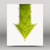 fondo de la tecnología del vector 3d ilustración del vector