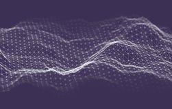 Fondo de la tecnología de la inteligencia empresarial Aprendizaje profundo de los algoritmos del código binario Análisis de la re libre illustration