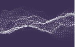 Fondo de la tecnolog?a de la inteligencia empresarial Aprendizaje profundo de los algoritmos del c?digo binario An?lisis de la re stock de ilustración