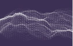 Fondo de la tecnolog?a de la inteligencia empresarial Aprendizaje profundo de los algoritmos del c?digo binario An?lisis de la re ilustración del vector