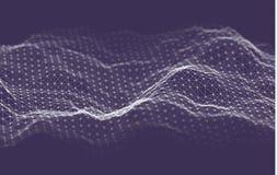 Fondo de la tecnolog?a de la inteligencia empresarial Aprendizaje profundo de los algoritmos del c?digo binario An?lisis de la re libre illustration