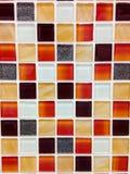 Fondo de la teja de mosaico Fotos de archivo