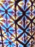 fondo de la tela del teñido anudado Imagen de archivo libre de regalías
