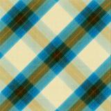 Fondo de la tela escocesa de la tela Imagen de archivo
