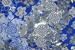 Fondo de la tela, fragmento de la materia textil retra colorida p de la tapicería Imagen de archivo libre de regalías