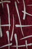 Fondo de la tela Vista superior de la superficie de la materia textil del paño Primer de la ropa Foto abstracta fotos de archivo